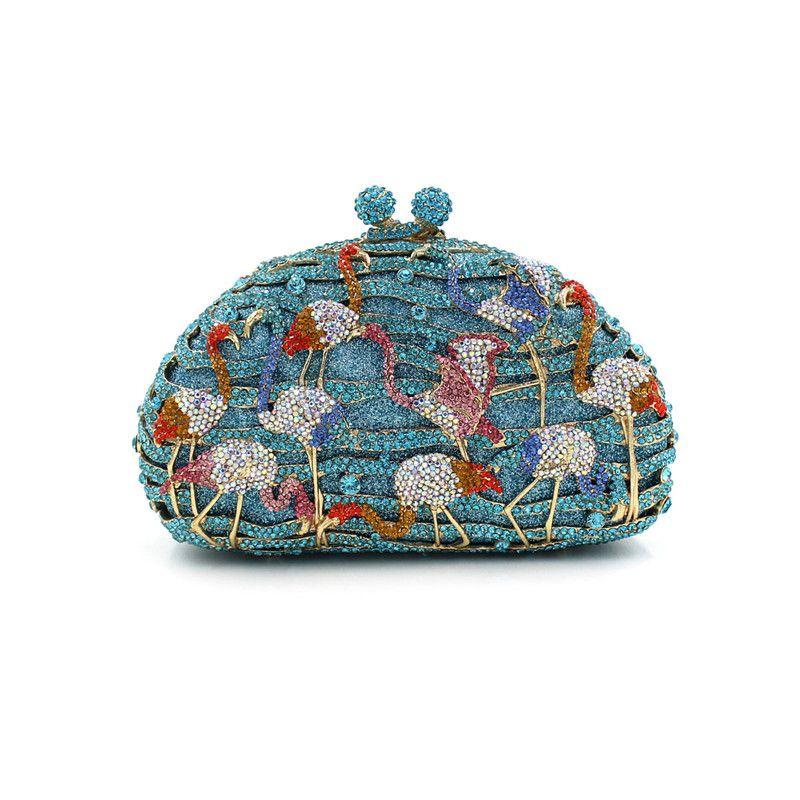 Aminals form geldbörse Luxus kristall abendtasche frauen hochzeit mode handtasche vintage tageskupplung damen handtasche