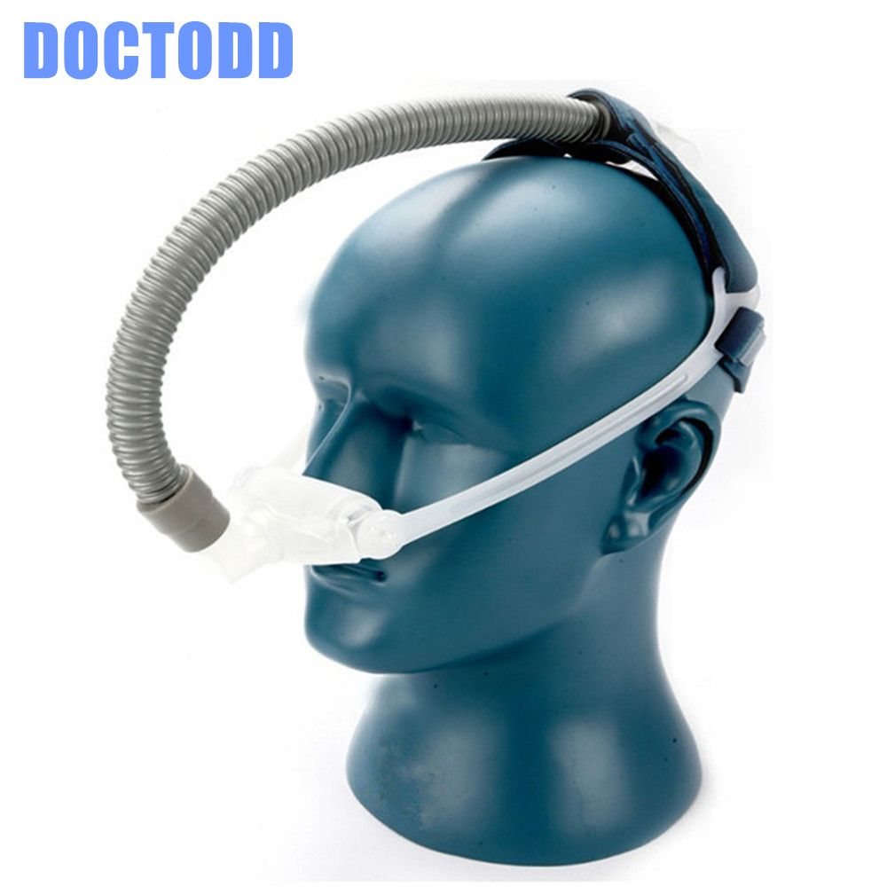 DOCTODDD WNP Nasal Pillows Mask For All Brands CPAP Auto CPAP BPAP Ventilator Sleep 3 Sizes Universal Cushion Pad Anti Snoring