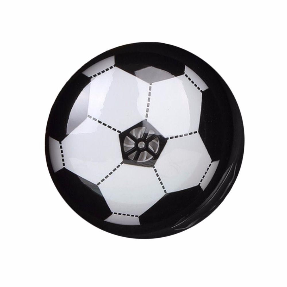 Bunte LED-Licht Elektrohängebühne Spiel Beleuchtung Luftpolster Fußball Indoor Sport Spielzeug Geschenk Kinder Kinder Studenten Neue