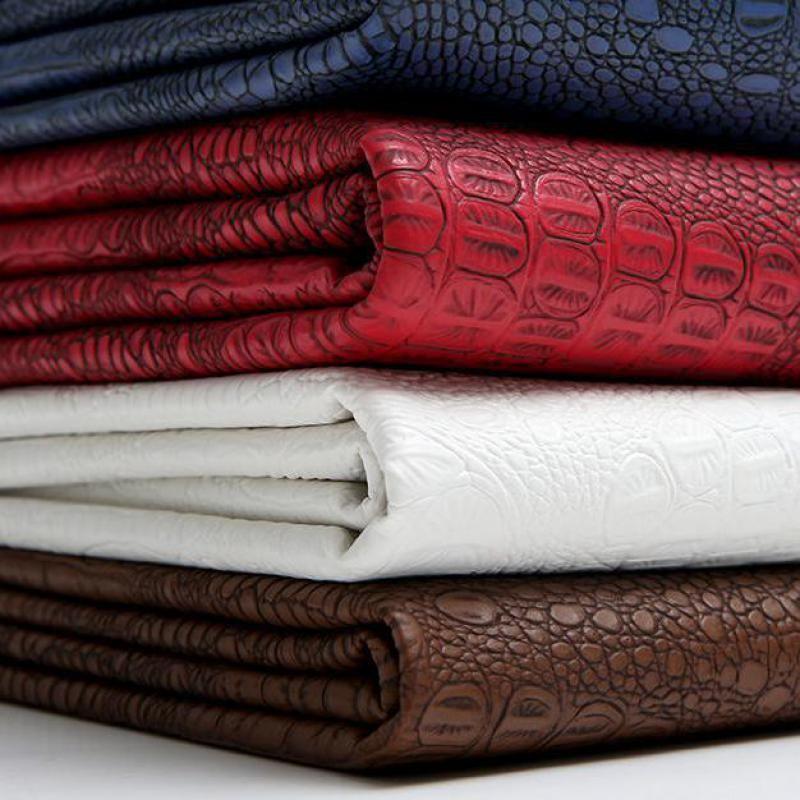 50x130cm Crocodile Leather Upholstery Furniture Fabric Holographic Kunstleder Simili Cuir Lederimitat Stoff A Skin Material