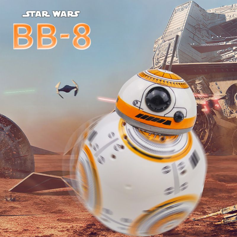<font><b>Star</b></font> Wars BB 8 RC Robot <font><b>Star</b></font> Wars BB-8 2.4G Remote Control BB8 Figure Robot Action Robot Sound Intelligent Toys Car For Children