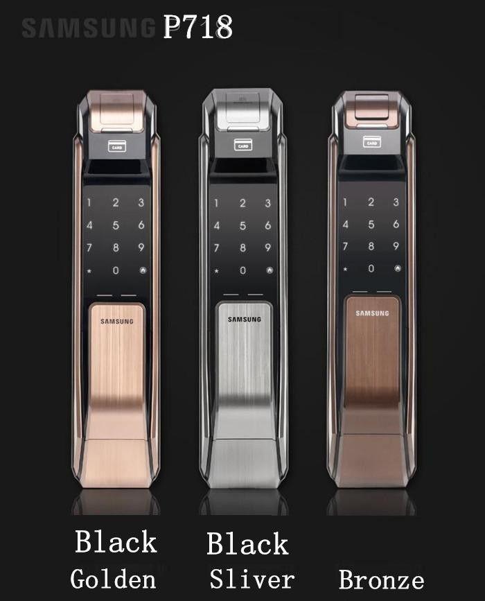 SAMSUNG SHS-P718 Fingerabdruck Digitale Türschlösser Push Pull Keyless Fingerprint Tag wie P910