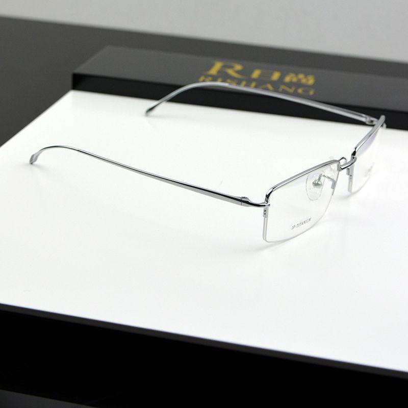 Chashma marque Top qualité mince Ultra léger lunettes titane pur hommes myopie lunettes cadres
