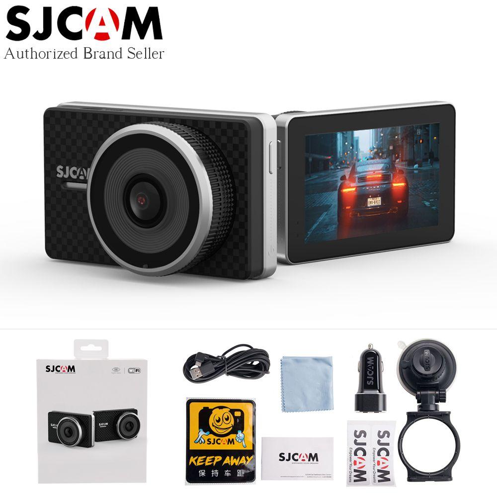 SJCAM SJDASH+ Dash Camera 1080P 60fps ADAS Dashboard Video Recorder GPS Location WiFi WDR Night Vision Car DVR Auto Dash Cam