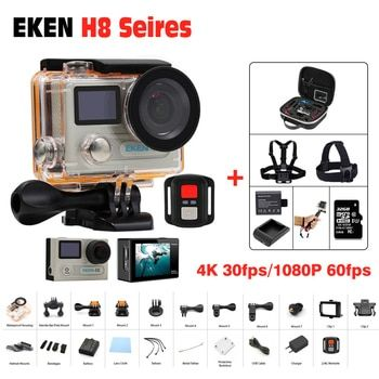 Action Camera Ultra HD 4 K 30FPS WiFi Sport Cameres Original EKEN H8/H8R 2.0