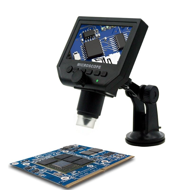 600X 3.6MP Digital HD Microscope Portable 4.3