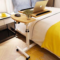 Escritorio del ordenador portátil cama mesa de cabecera de aprendizaje con hogar plegable de elevación móvil