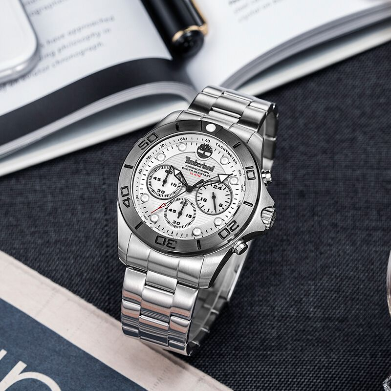Timberland Herren Uhren Chronograph Casual Quarz Komplette Kalender Wasserdicht Herren Uhren T13909