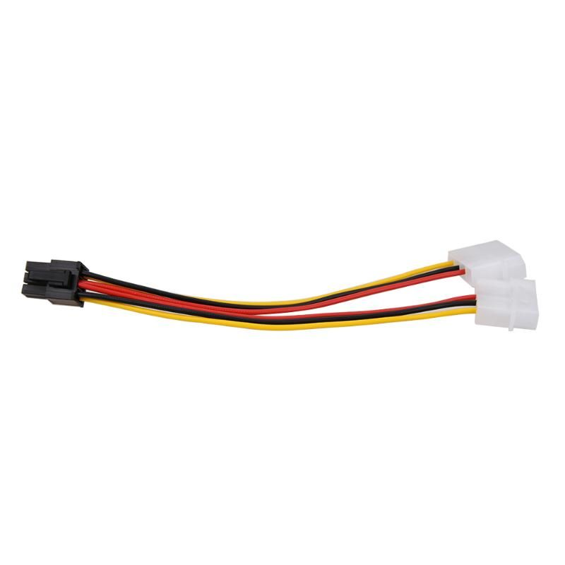 1pc High Quality 4pin to 6pin Display Card Power Line Adapter Line Graphics Card Power Cable Special Purpose for Mining