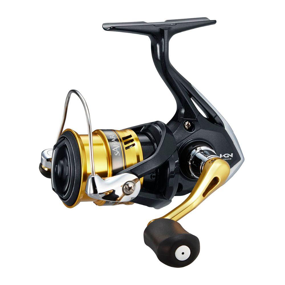 New Shimano SAHARA FI 1000 - 4000XG Series Spinning Fishing Reel 5.0:1/6.2:1 4+1BB Hagane Gear X-Ship Saltwater Fishing Reel