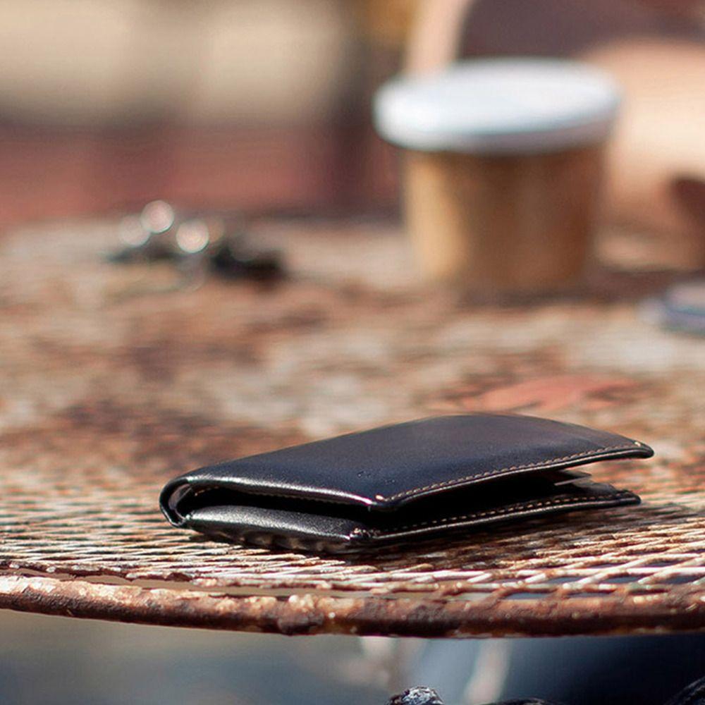 Австралийский бренд Rfid Тонкий Овощной кожаная сумка для Для мужчин Невидимый слот для карты SD рукав Примечание кошелек bellroy короткие бумажн...