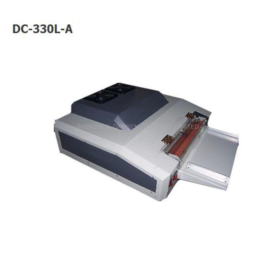 330mm UV coating machine,UV varnish coater machine DC-330LA UV liquid coating machine,photo laminating coating machine