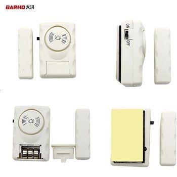 DARHO 1 pcs Magnétique Sensor105dB Sans Fil Accueil Porte Fenêtre Système D'alarme de Sécurité de Cambrioleur Capteur Magnétique pour Système de Sécurité À Domicile