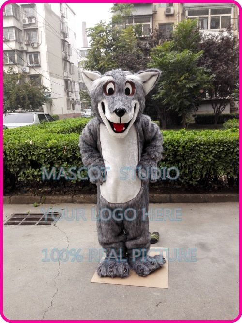 plush wolf mascot Coyote werewolf costume custom fancy costume anime cosplay kit mascotte theme fancy dress 401472