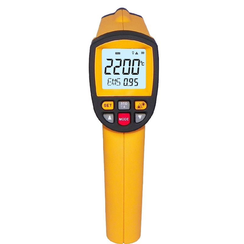 GM2200 Industrial Digital Infrared Thermometer RS-232 conection online measurement with computer software analysis
