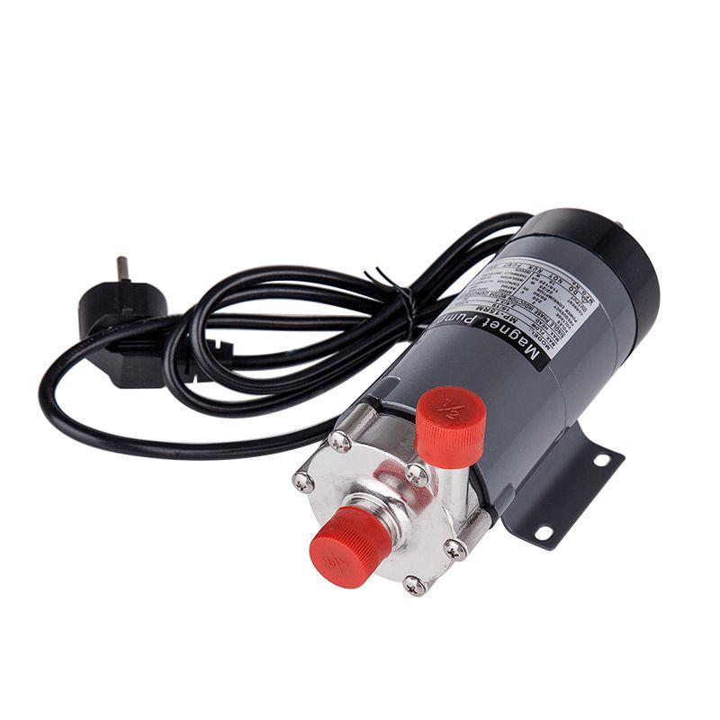 304 stainless head Magnetic Pump 15R , Homebrew,Food Grade High Temperature Resisting 140C beer Magnetic Drive Pump Home Brew