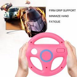3 Color Plastic Innovative and ergonomlc design Game Racing Steering Wheel for Nintendo Wii Mario Kart Remote Controller
