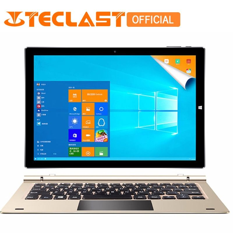 Teclast Tbook 10s Intel Cherry Trail Z8350 Quad Core Windows 10+Android 5.1 4G+64G 1920*1200 IPS 10.1
