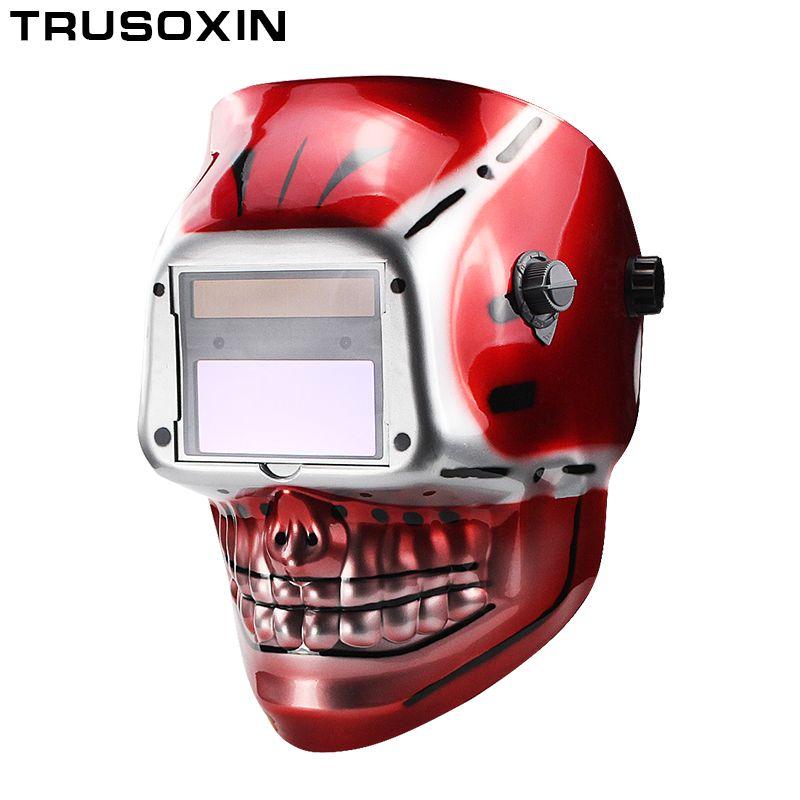Solar Li Battery Outside Control Auto Darkening Grind Welding Helmet/Welder Goggles/Welder Mask Welding Mask