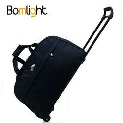 BomLight Imperméable Bagages Sac Épais Style Roulant Valise Chariot Bagages Femmes et Hommes Sacs de Voyage Valise Avec Roues