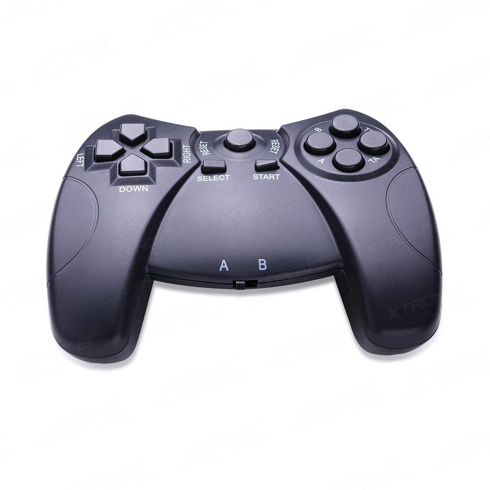 Dual Channels IR Wireless Game Pad With A&B Channels To Support Doubles Games Compatible With Headrest DVD Players