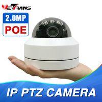Domo PTZ cámara IP 1080 p Full HD Onvif 3X Zoom P2P H.264 30 m IR visión nocturna resistente al agua 2MP al aire libre cúpula POE PTZ cámara IP