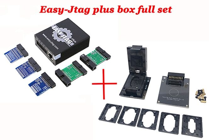 Oityn New Easy-Jtag plus box Easy Jtag plus box Activated come with EMMC socket set