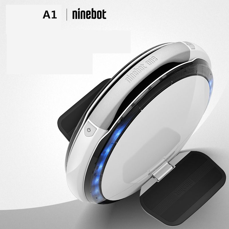 Ninebot One A1 single wheel smart electric self balancing scooter hoverboard skateboard unicycle UL support dual batteries kit