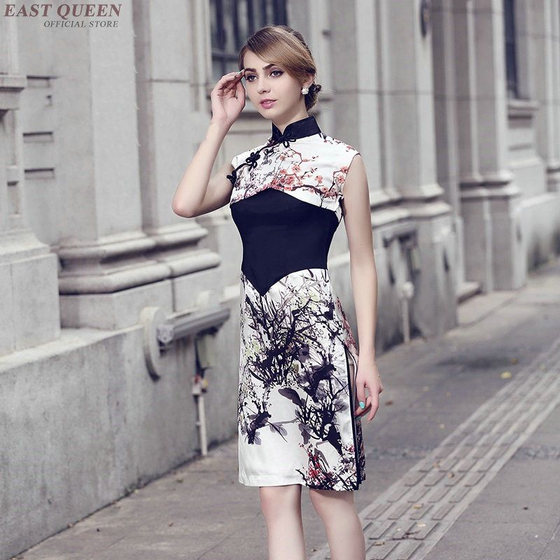 Ceremonie dress for female Chinese style cheongsam modern dresses for events vietnam clothing ao dai oriental wedding dress
