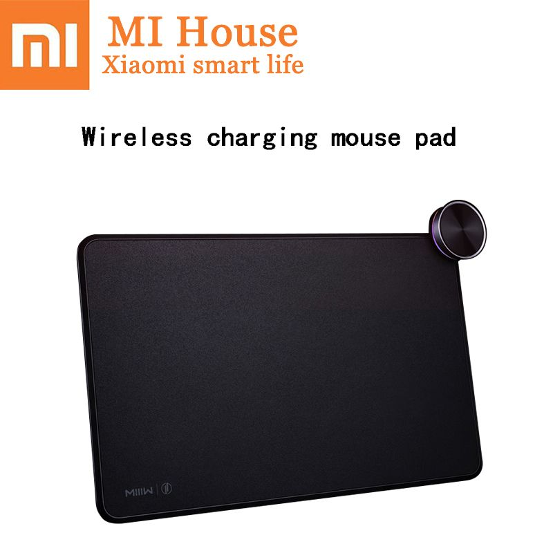 Xiaomi Miiiw Smart Mouse Pad Qi Wireless Charging Mi Mix 2S Iphonex Fast Charge Gaming Mouse Pad Xiaomi Wireless Charger