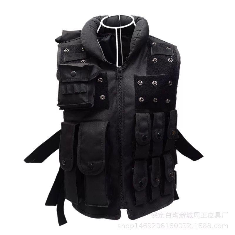 CXB1-Multicolor tactical vest security outdoor training combat CS field protection vest