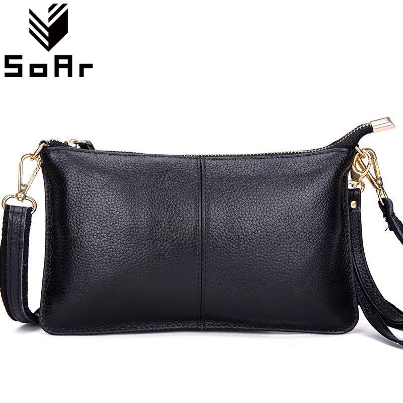 Sac à main De Mode en cuir de vache sacs de postier pour femmes poignée téléphone sac qualité supérieure sac en cuir véritable petit dames sac à bandoulière Rabat