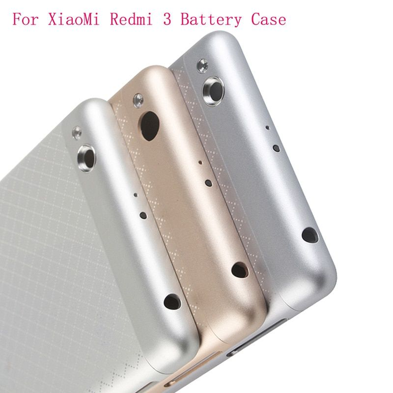 Original phone Housing for Xiaomi Redmi 3 case Replacement Parts Metal back Battery Cover for xiomi Redmi 3 Battery cover