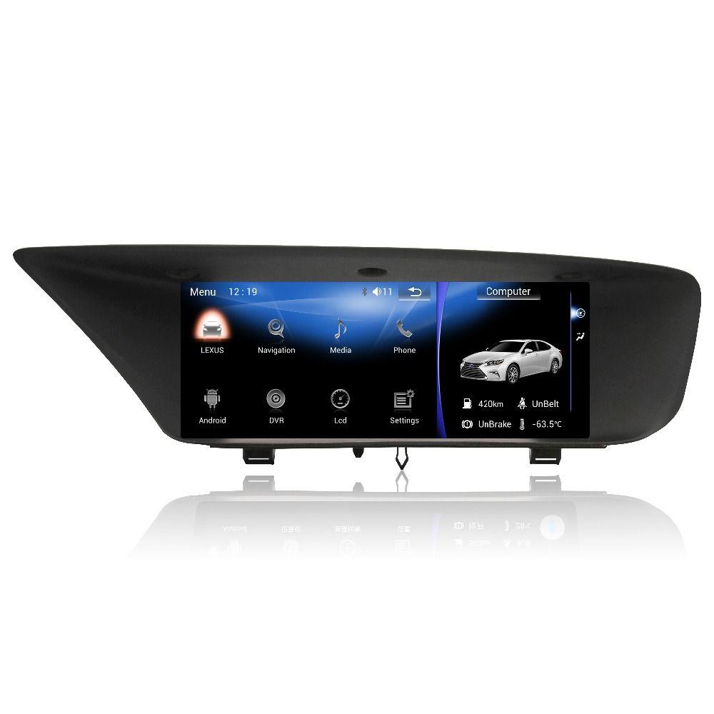 MERRYWAY for LEXUS GS Dashboard Screen Andorid Navigation GPS Dash Camera Radio Multimedia DVD Bluetooth Head Units Player