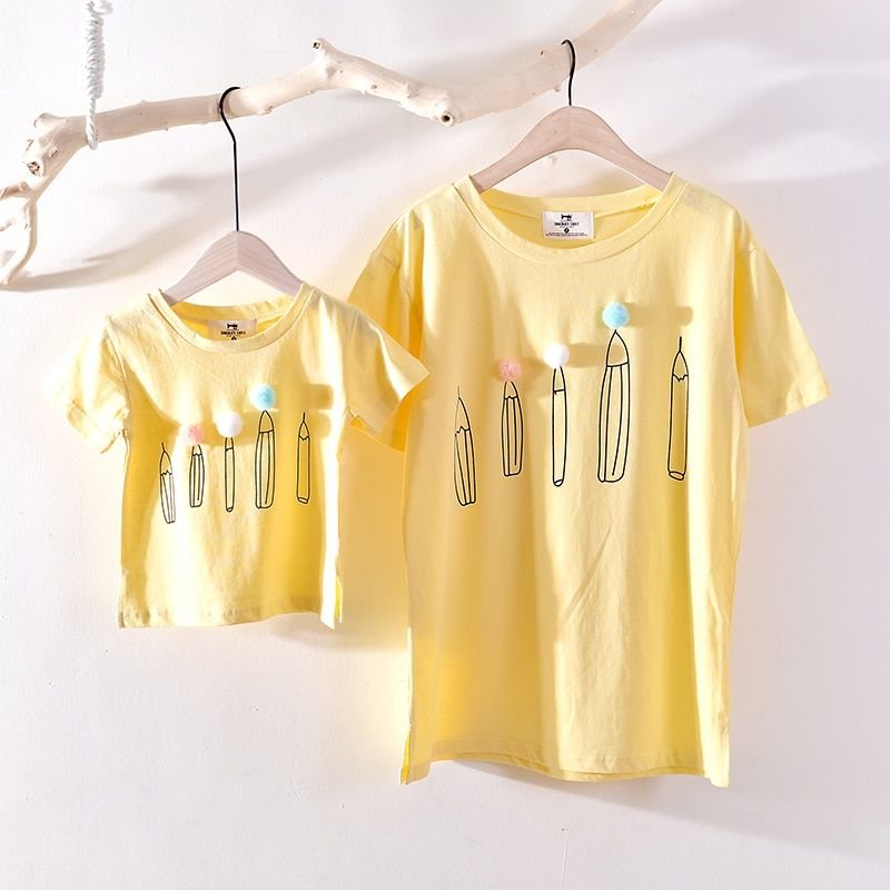 Наборы для семьи бренд 2018 Семья футболка хлопковые футболки для мамы и папы сына и дочери летняя детская одежда