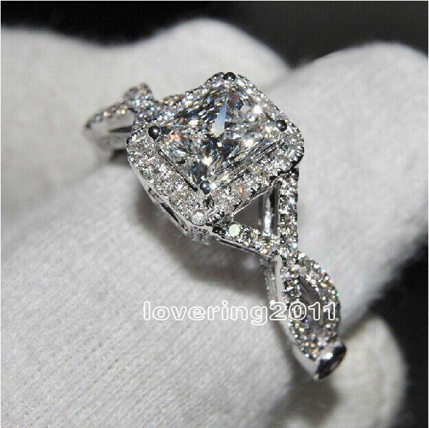 Victoria Wieck bijoux de mode AAA cubique zircone gemme 925 en argent Sterling bague de fiançailles de mariage Sz 5-11 livraison gratuite cadeau