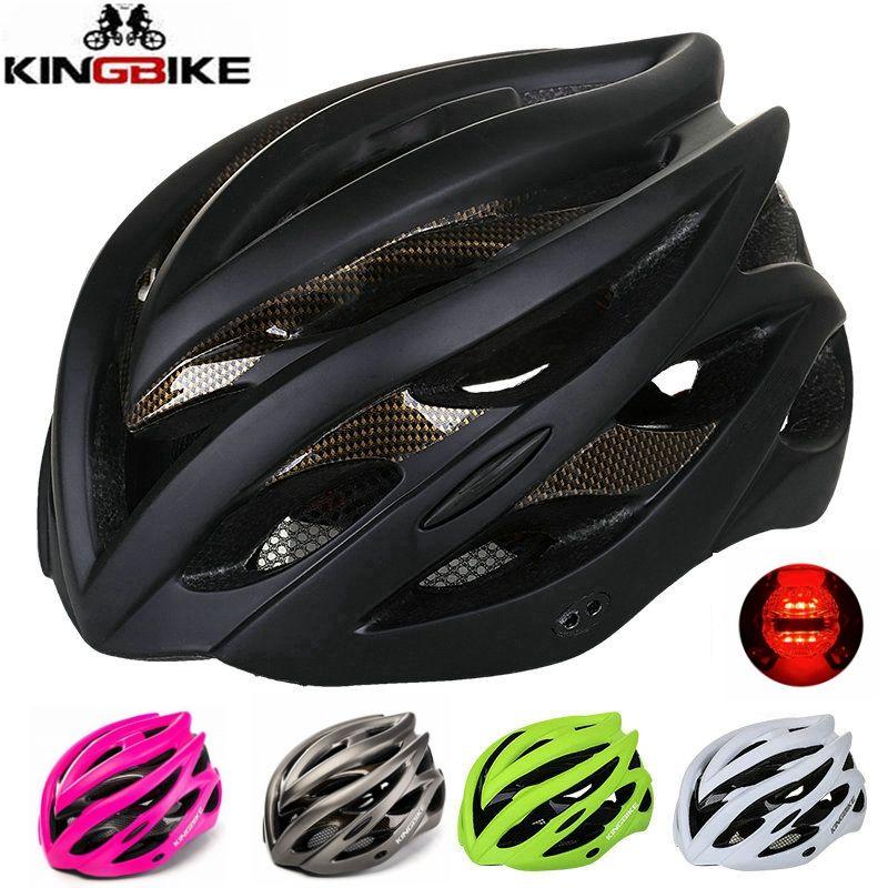 KINGBIKE 2018 New arrive MTB Road Cycling Helmet Women Men Integrally-molded Ultralight Helmet <font><b>Bicycle</b></font> Helmets capacete ciclismo
