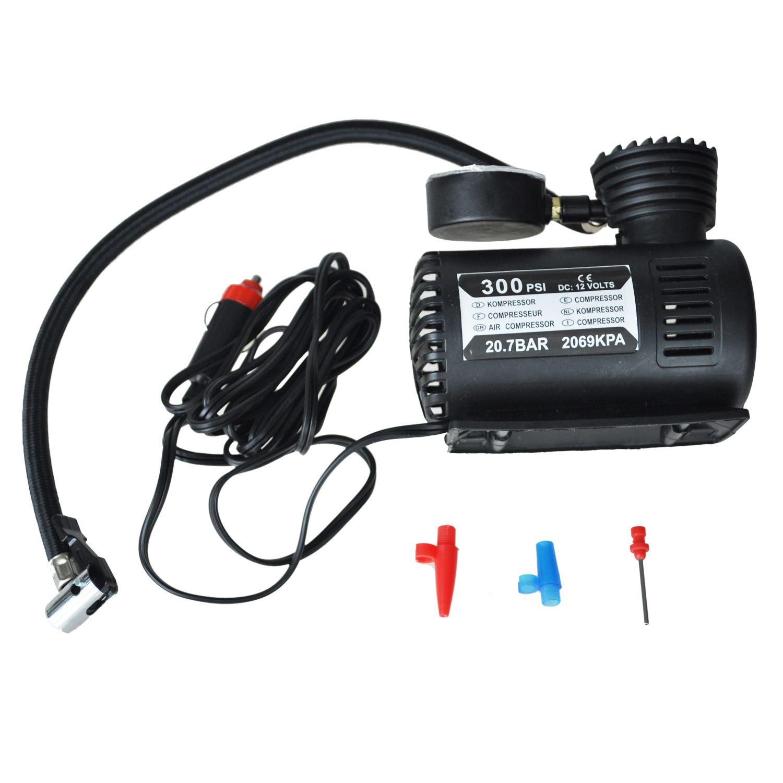 Hot Sale 300PSI 12V Portable Mini Air Compressor Auto Car Electric Tire Air Inflator Pump