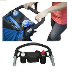 Baby Stroller Organizer Baby Carriage Prams Bottle Cup Holder for Pram Buggy Stroller Accessories Wheelchair Bag