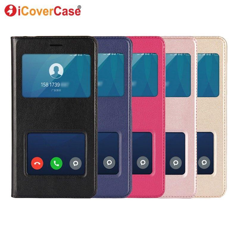For Xiaomi Redmi 4a Case Protection Dual View Window PU Leather Flip Case for Xiaomi Redmi 4a Cover Funda 16gb 32 gb Coque Etui