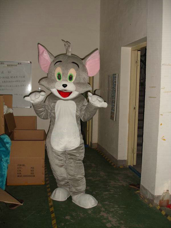 Tom et Jerry Tom Jerry costume adulte taille costume de mascotte