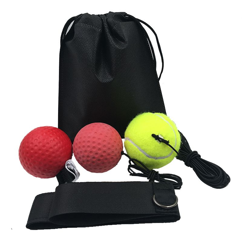 Boxe réflexe vitesse Punch Ball entraînement main oeil Coordination bandeau améliorer réaction Muay Thai Gym équipement d'exercice sacs
