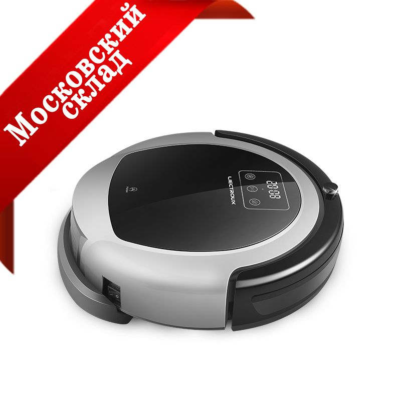 (Moscow Warehosue) LIECTROUX Robot Vacuum Cleaner B6009,Map Navigation,Smart Memory,Suction 3000pa, Big Water Tank, Durl UV Lamp
