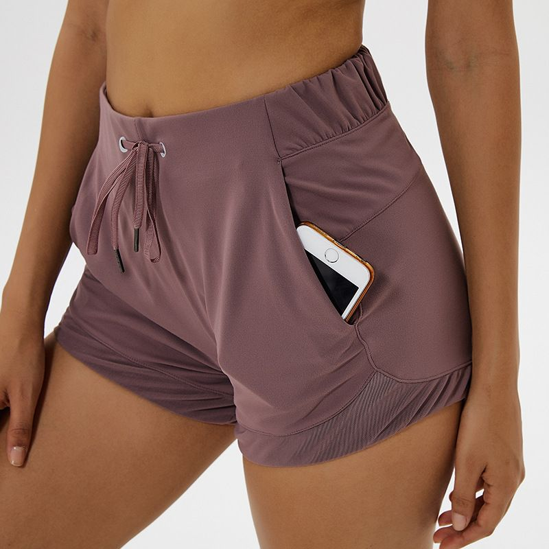 NWT Tummy Control Yoga Shorts Capris for Women with Phone Pockets Workout Running Sports Shorts with Pockets Free Shipping
