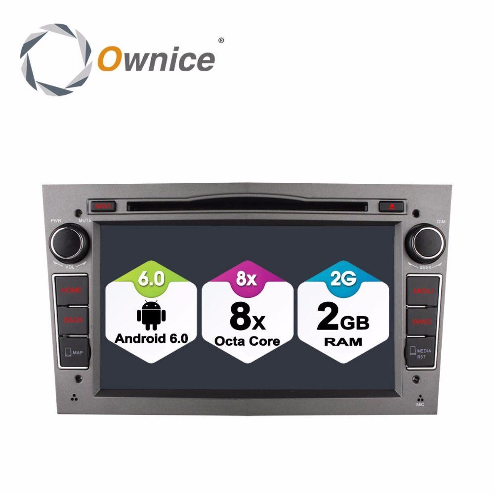 Octa Core 2GB RAM Android 6.0 for Opel Vectra C D Vivaro Meriva Antara Astra Corsa Zafira Car DVD Player Radio GPS 4G WIFI