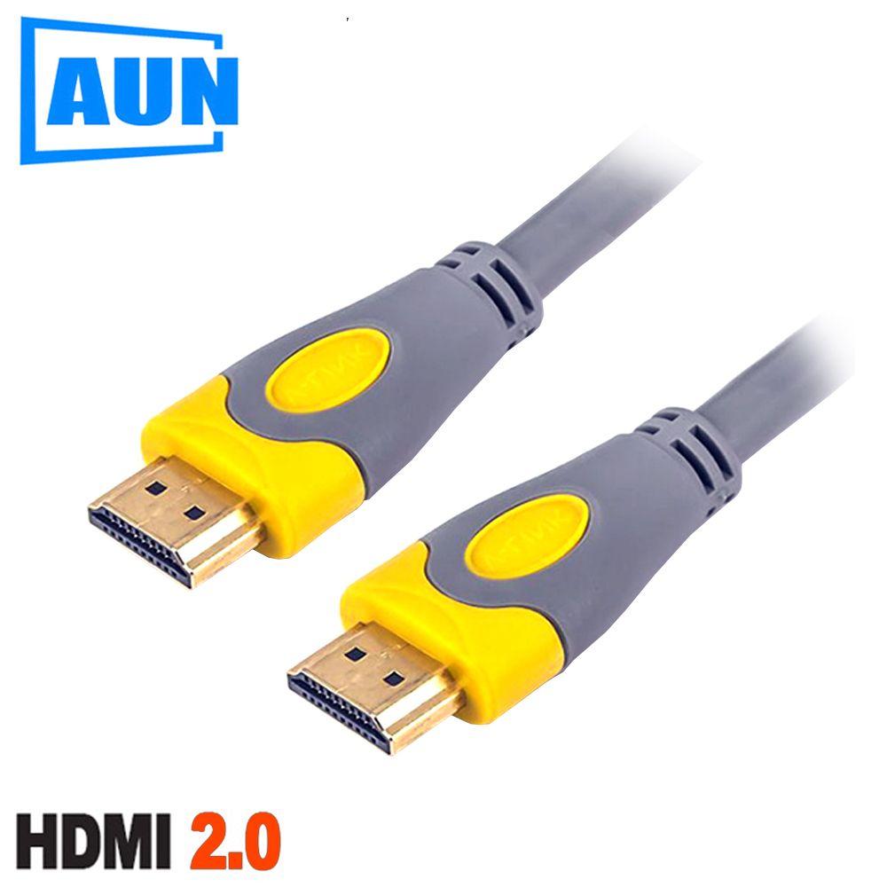 AUN 1,5 mt, 3 mt HDMI 2,0 Version Sauerstoff-Freies Kupfer HDMI Kabel. Unterstützung 3D, 1080 p, 2 karat, 4 karat für AUN Projektor, TV, HD-Monitor