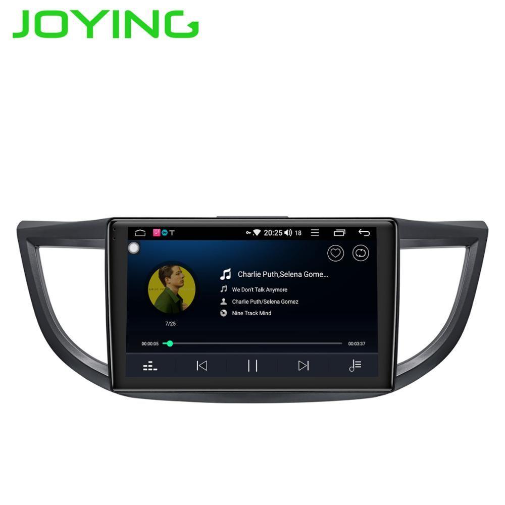 JOYING 4 GB radio cassette player Android 8.1 octa Core autoradio 10,1 auto radio für Honda CRV 2012-2016 DSP schnelle Boot HD audio