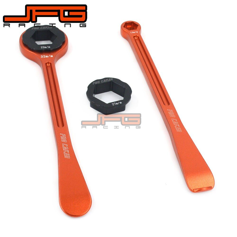 Motorcycle Tyre Iron Set Changing Tool Kit Raceline Levers Hex Wrench Spanner Head 10MM 13MM 22MM 27MM 32MM For European Bike
