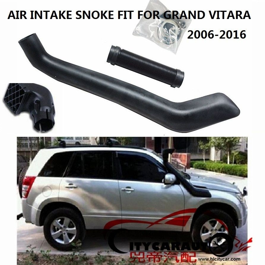 CITYCARAUTO RIGHT SIDE GRAND VITARA AIR INTAKE SNORKEL FIT FOR 2006-2016 SUZUKI GRAND VITARA AIRFLOW SNORKEL CAR STYLING