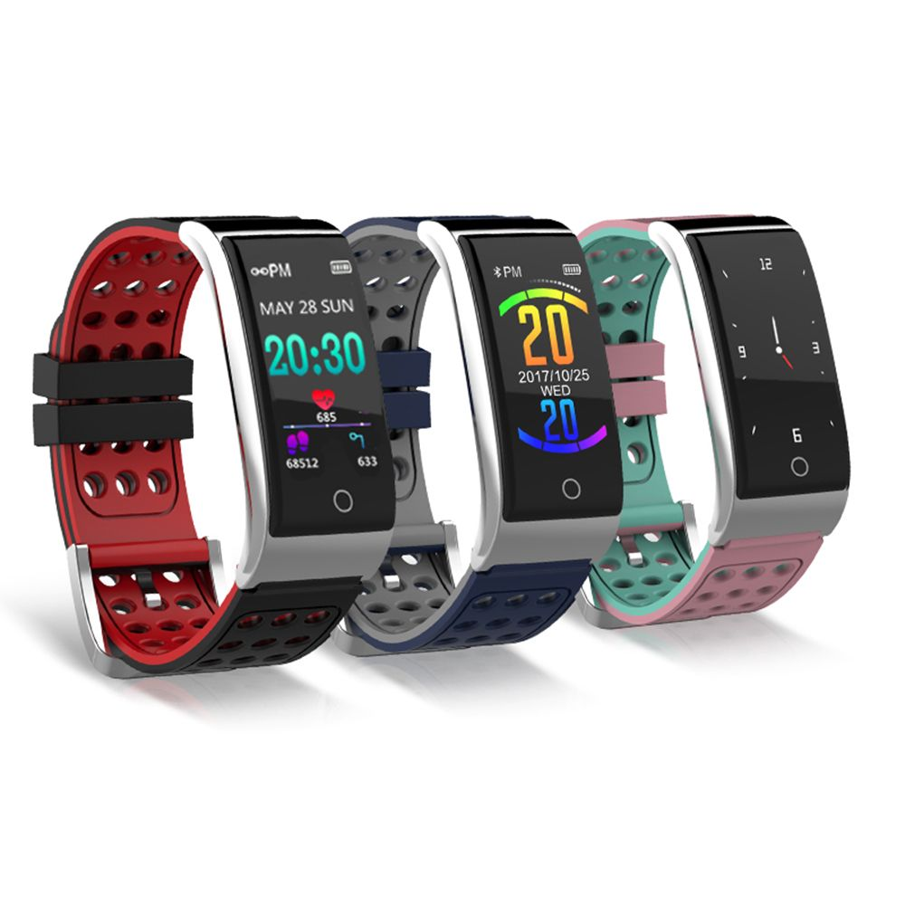 Smart Bracelet Fitness Tracker Smart Wristband Heart Rate Monitor ECG/PPG <font><b>Blood</b></font> Pressure Smart Band Watch for IOS Android Phone